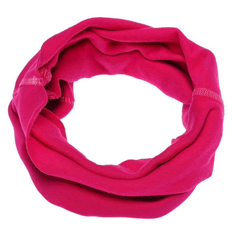 Памучна розова шал-яка за момиче  100281