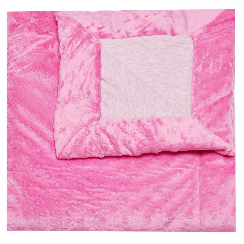 Плюшено одеяло за момиче TUTU, 70х80 см.  100326