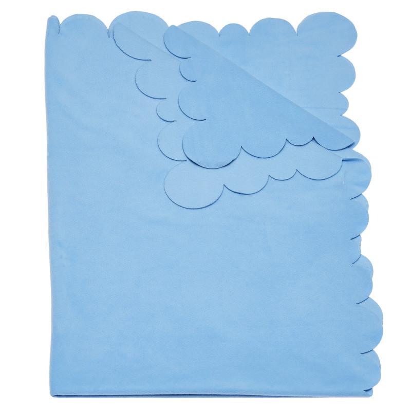 Одеяло за момче в светлосиньо, 95х145 см.  100360