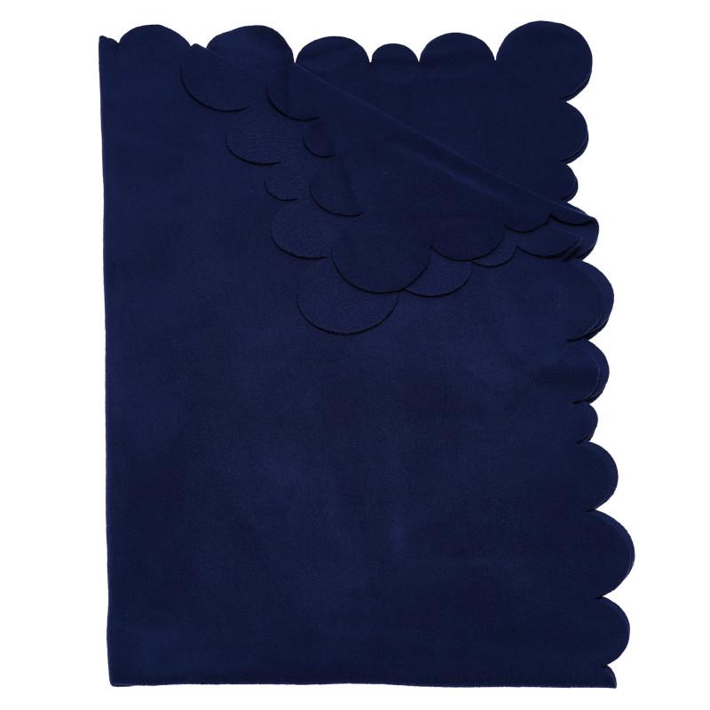 Одеяло за момче в син цвят, 95х145 см.  100364