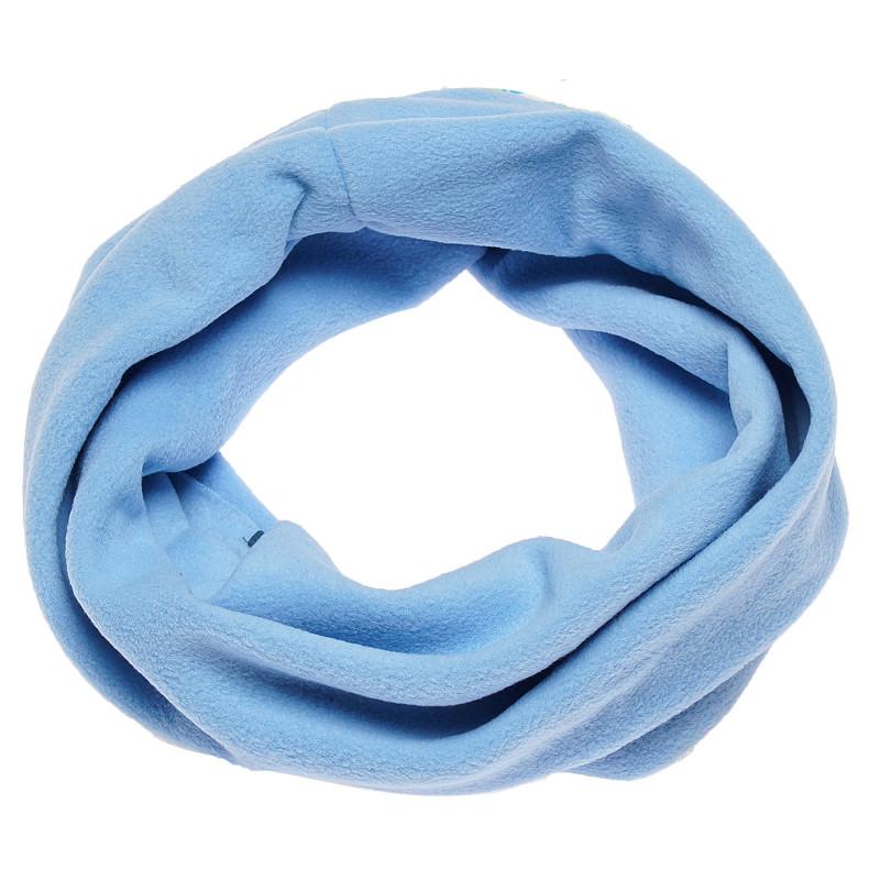 Плюшен шал TUTU за момче в син цвят  100426
