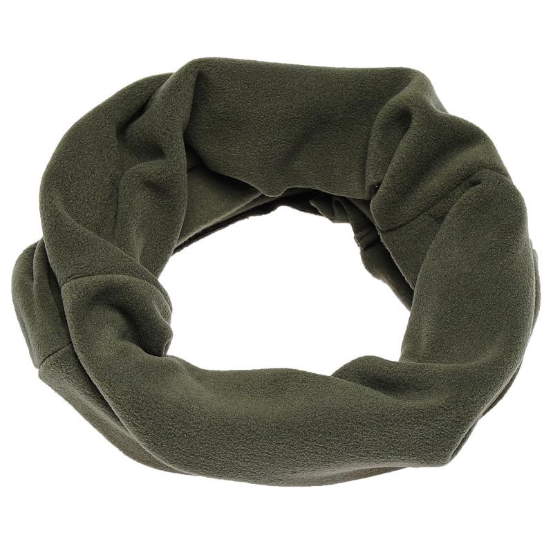 Плюшен зелен шал TUTU от висококачествена материя  100432
