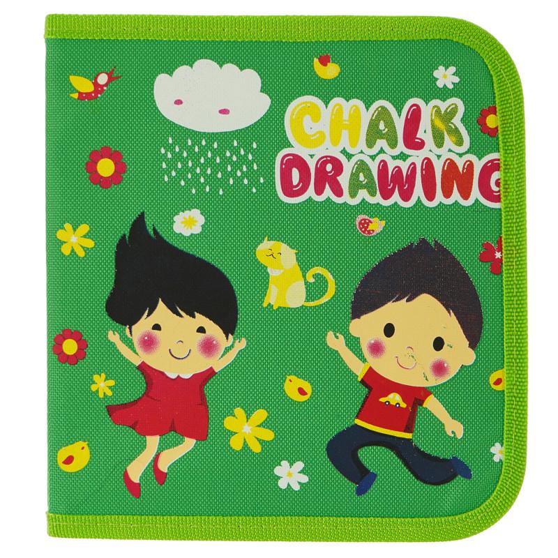 Удобна книжка за рисуване - без прах Book Drawing  100598
