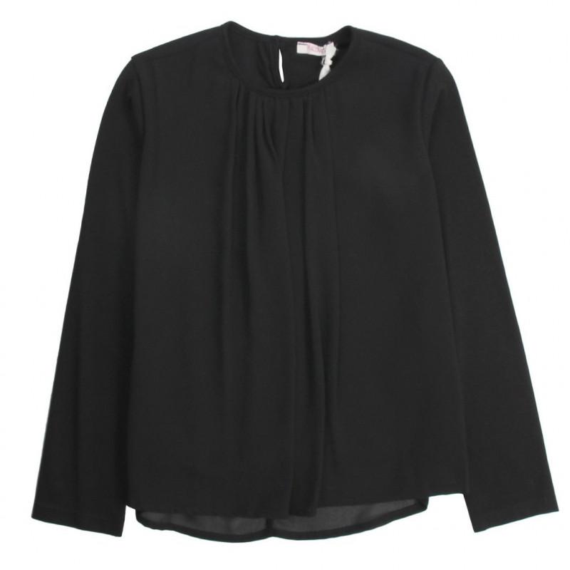 Блуза за момиче от фина материя  10099