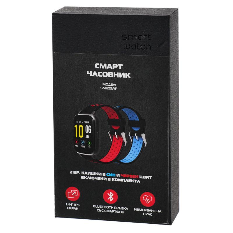 Смарт часовник smart watch sm1221wp  101031