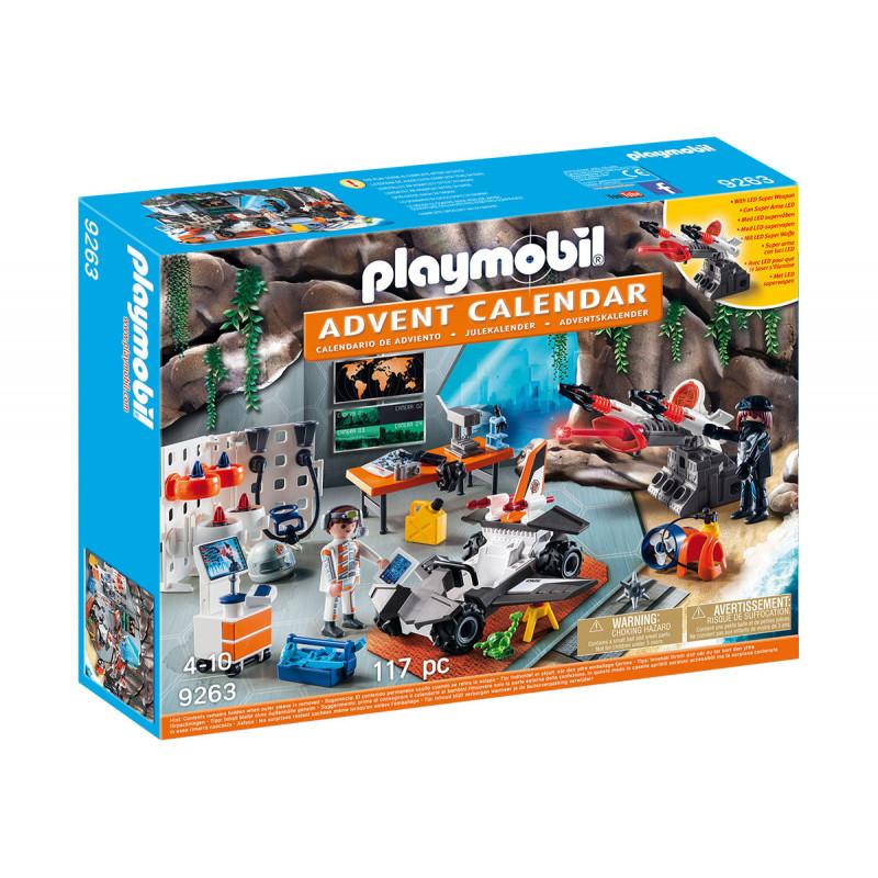 Плеймобил - Коледен календар Топ Агенти  101747