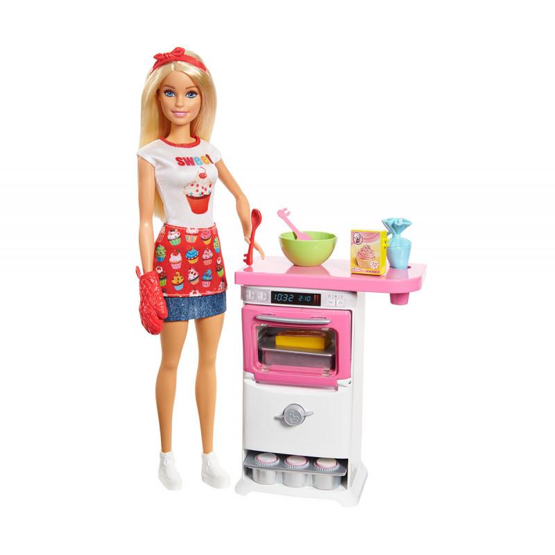 Барби Игрален комплект Шеф готвач за момиче  101860