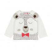 Памучна блуза с дълъг ръкав за бебе - унисекс Boboli 102