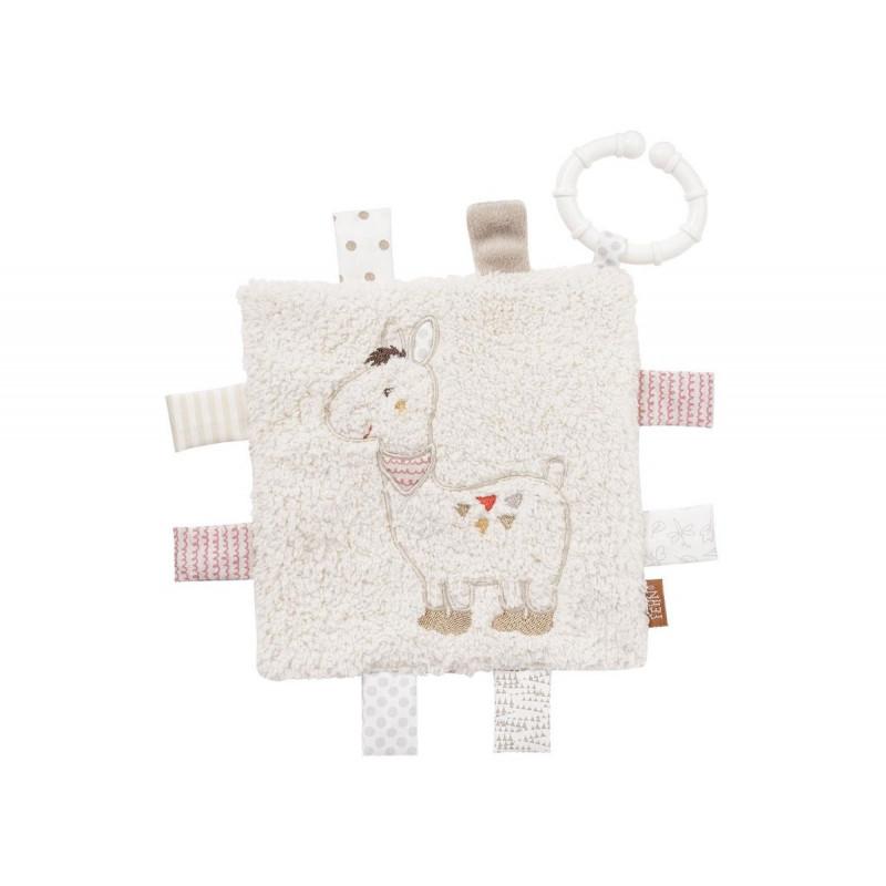 Мека кърпа с ринг лама  102070