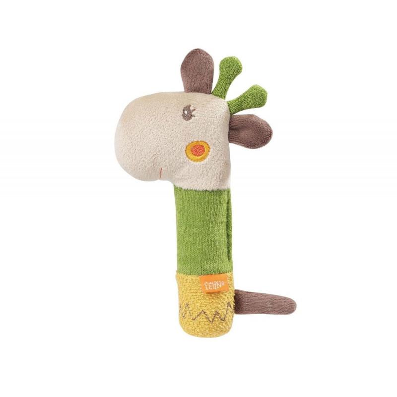 Мека играчка с пискюл жираф  102100