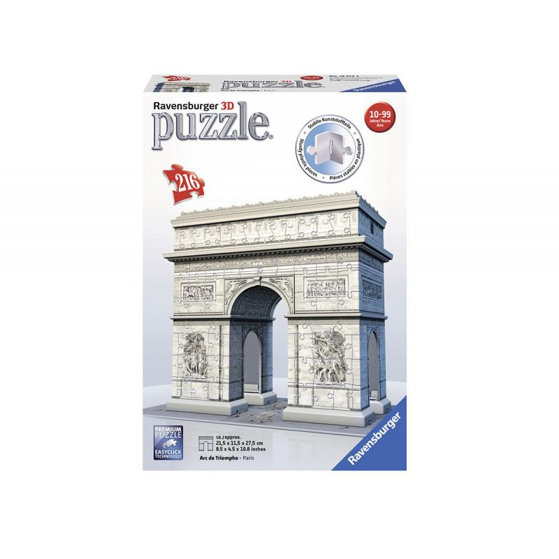 3D Пъзел Триумфалната арка, 216 части  102121