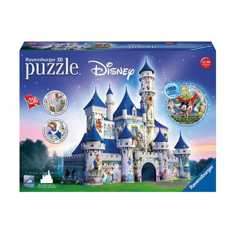 3D Пъзел Дисни замък, 216 части  102128