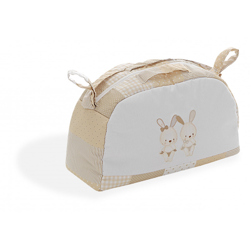 Чанта за аксесоари Bunnies, бежова  102725