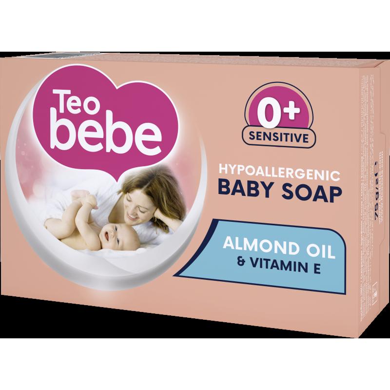 Almond oil & Vitamin E крем сапун, кутия, 75 гр.  10275