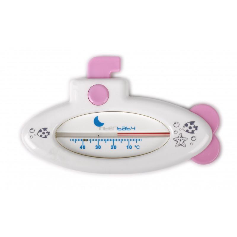 Термометър за вода, розов  102753