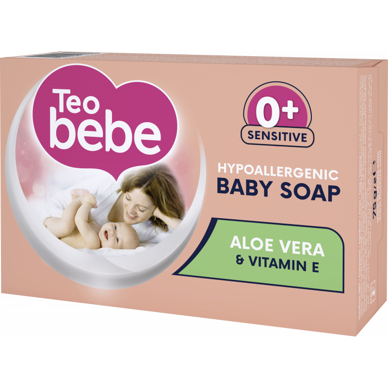 Aloe vera & Vitamin E крем сапун, кутия, 75 гр.  10276