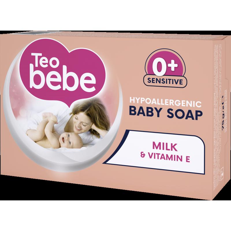Milk & Vitamin E крем сапун, кутия, 75 гр.  10278