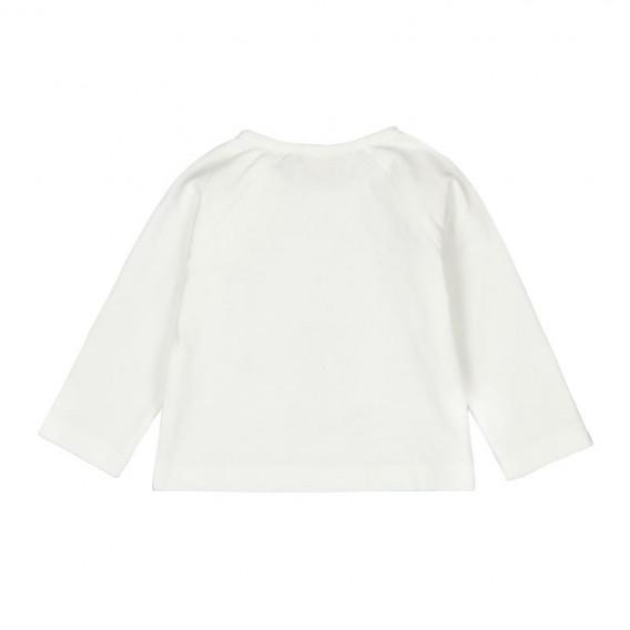 Памучна блуза с дълъг ръкав за бебе - унисекс Boboli 103 2
