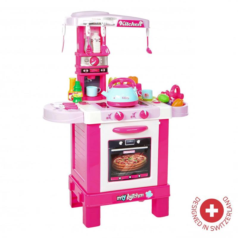 Интерактивен кухненски център със светлина, звук и пара ZIZITO Little Chef  103485