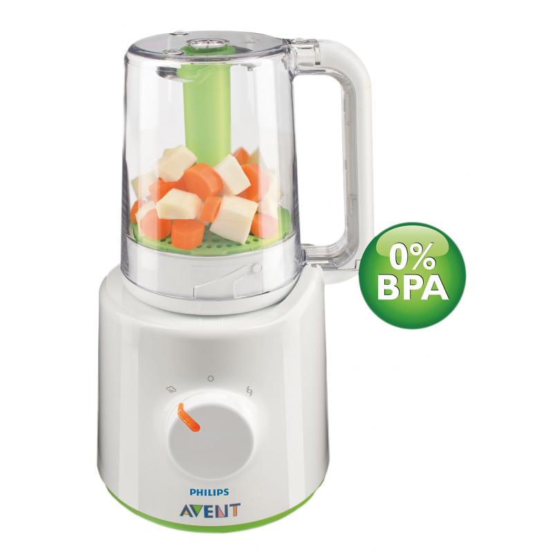 Уред за приготвяне на здравословна бебешка храна Philips AVENT 2 в 1  10409