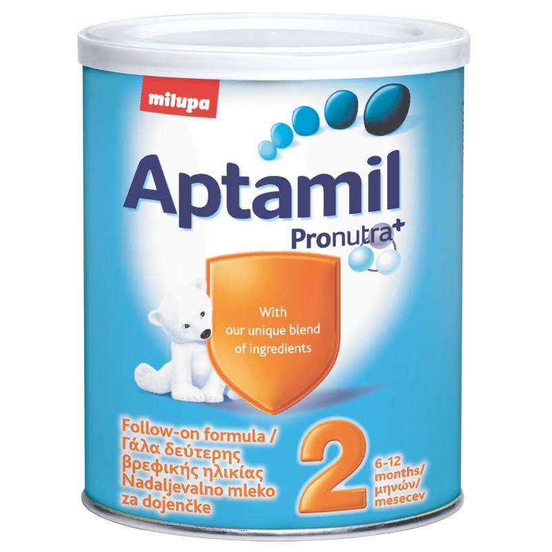 Aptamil 2 c Pronutra+, 6+ месеца, кутия 400 гр.  10426