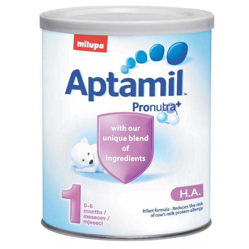Aptamil НА 1, новородени, кутия 400 гр.  10436