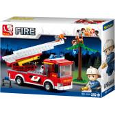 Противопожарен камион със стълба Sluban 10471