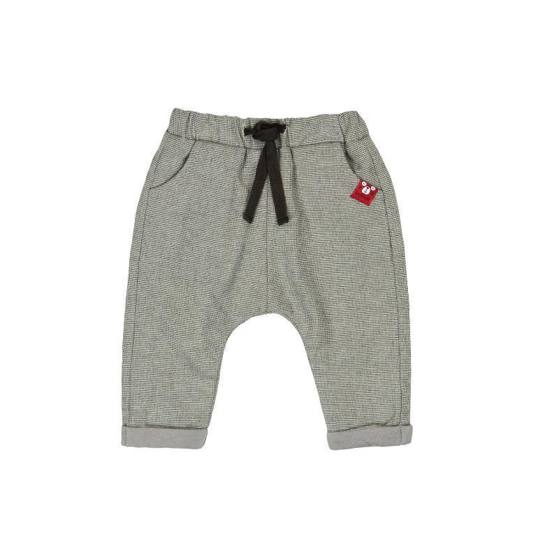 Панталон с подплата и апликация за бебе момче  106