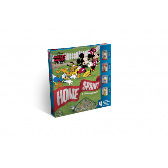 Игра настолна Mickey & Friends Home Sprint  106219