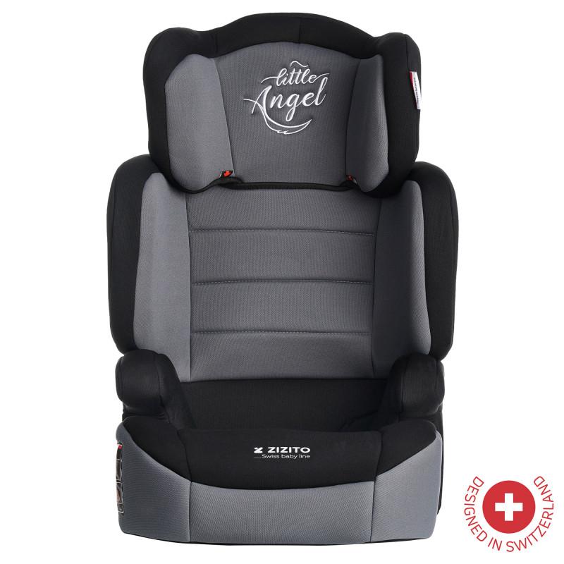 Столче за кола JUNONA, TUV сертификат за безопасност, 2-в-1, 15-36 кг, сиво  106318