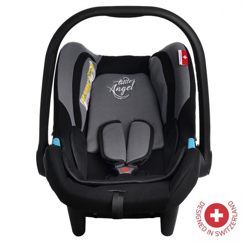 Кошче за кола AVRORA , TUV сертификат за безопасност, 0-13 кг, с подобрена защита, сиво  106352