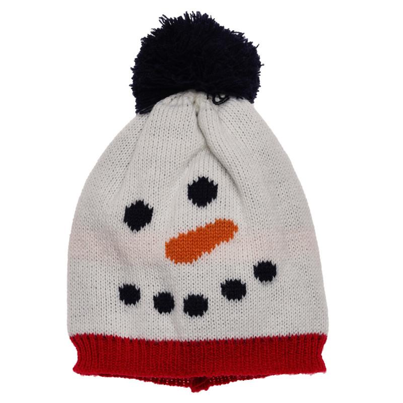 Шапка снежен човек  106421