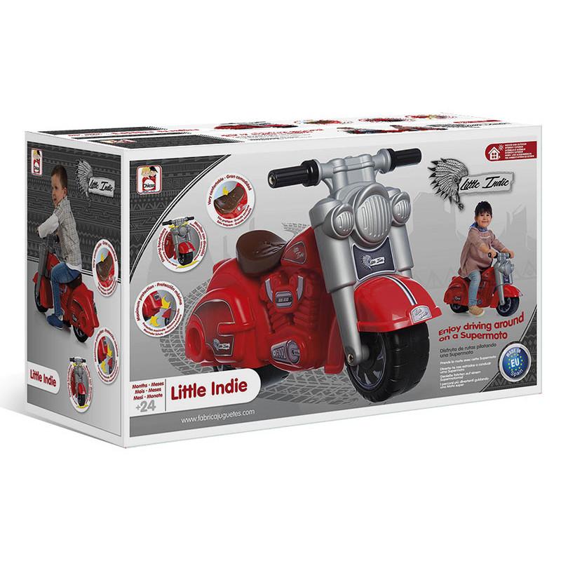 Детски мотор червен- little indie  10648