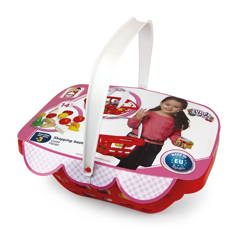 Комплект кошница за пазаруване и аксесоари  10658