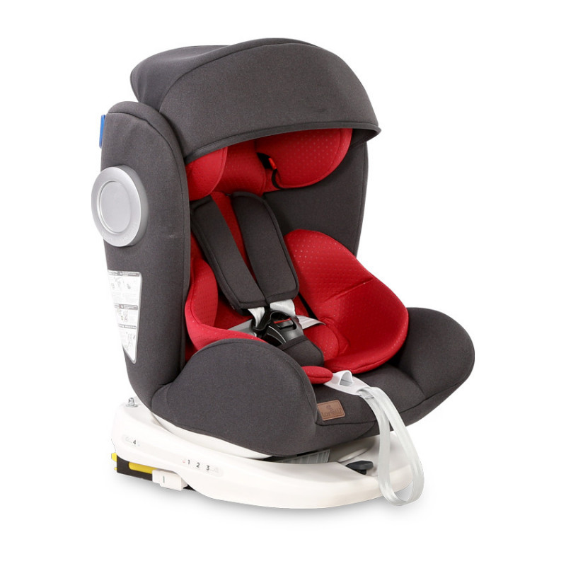 Столче за кола LUSSO SPS ISOFIX Black & Red, 0-36 кг  106649