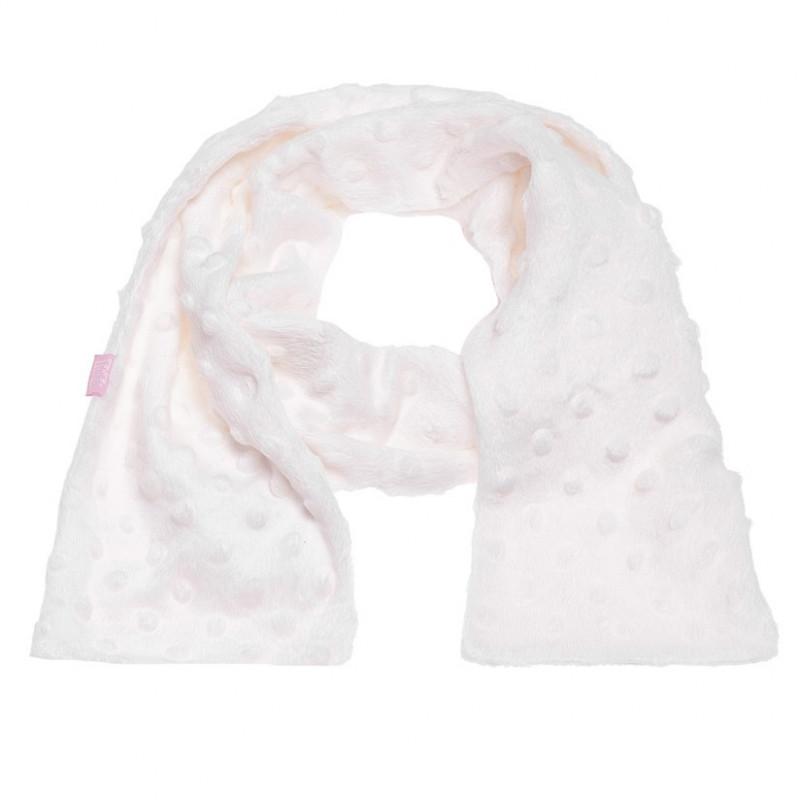 Бял плюшен шал за момиче  106730