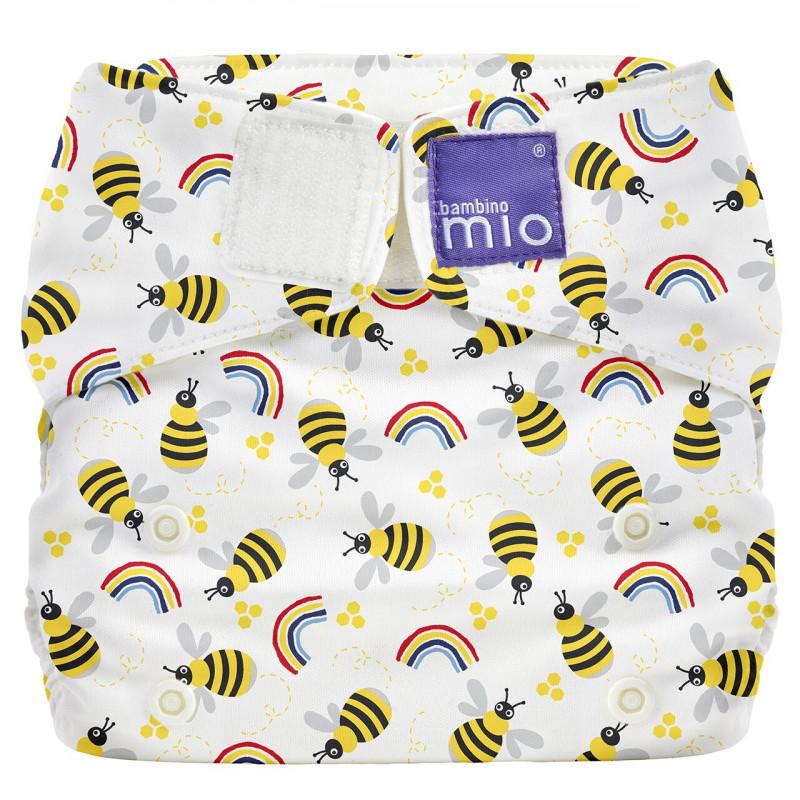 Многократни пелени, пчелички, универасален размер, 1 бр.  106873
