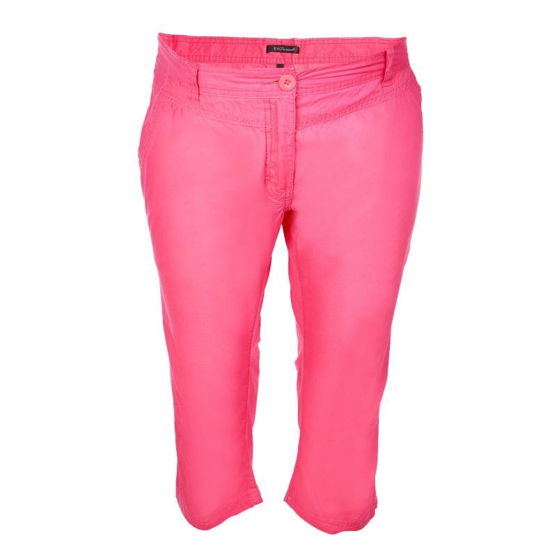 Памучни7/8 панталони за бременни, розови  106953