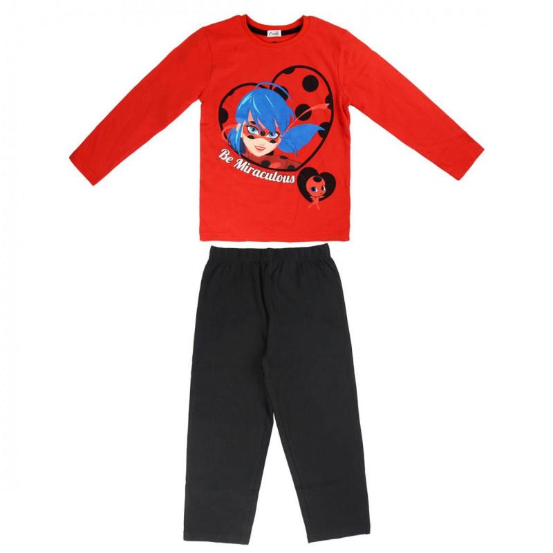 Пижама за момиче с щампа от lady Bug  1072