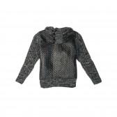 Пуловер за момче с качулка MC United 10802