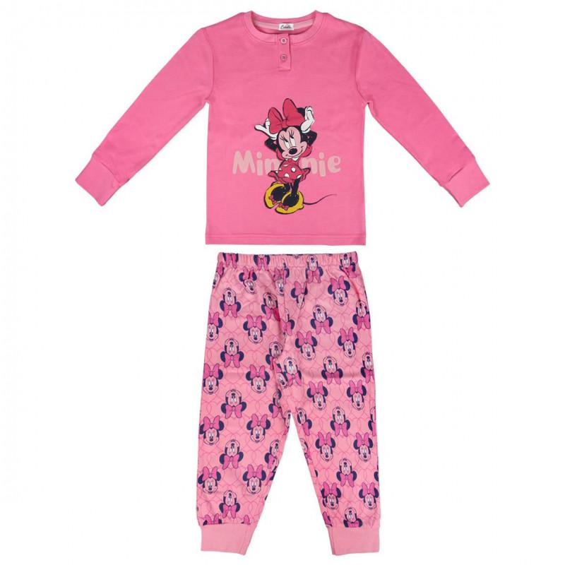 Пижама за момиче с щампа Minnie Mouse  1087