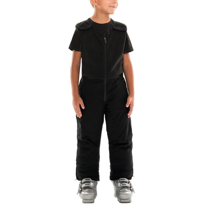Ски гащеризон с полиуретанова мембрана за момче, черен  10923