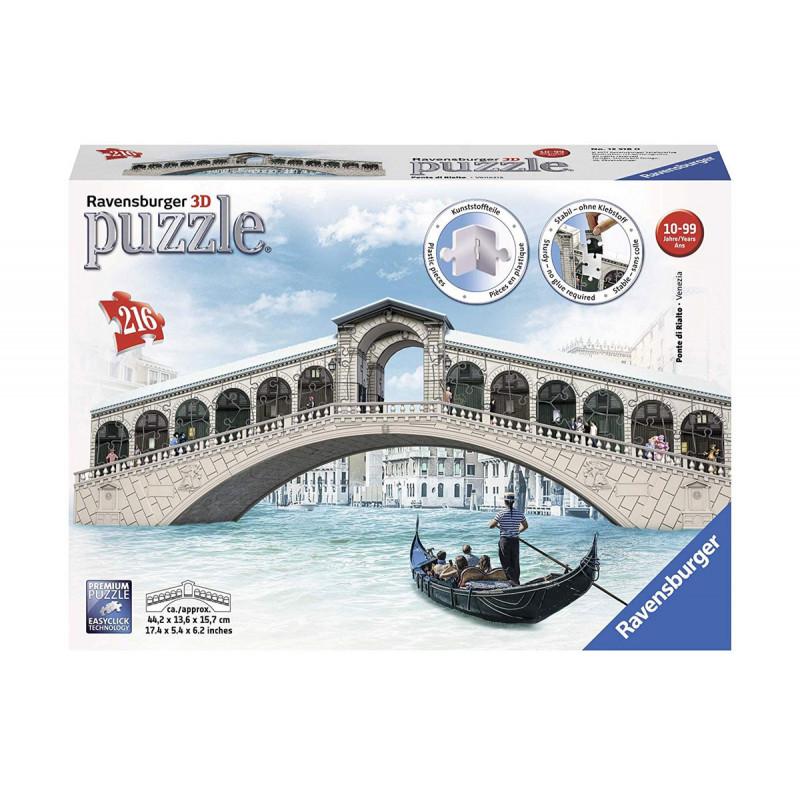 3D Пъзел Мост Риалто  10984
