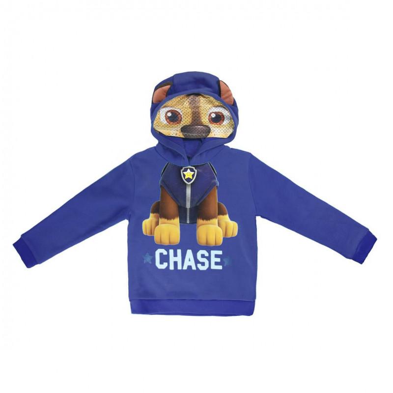 Суитчър Chase с качулка за момче син  1100