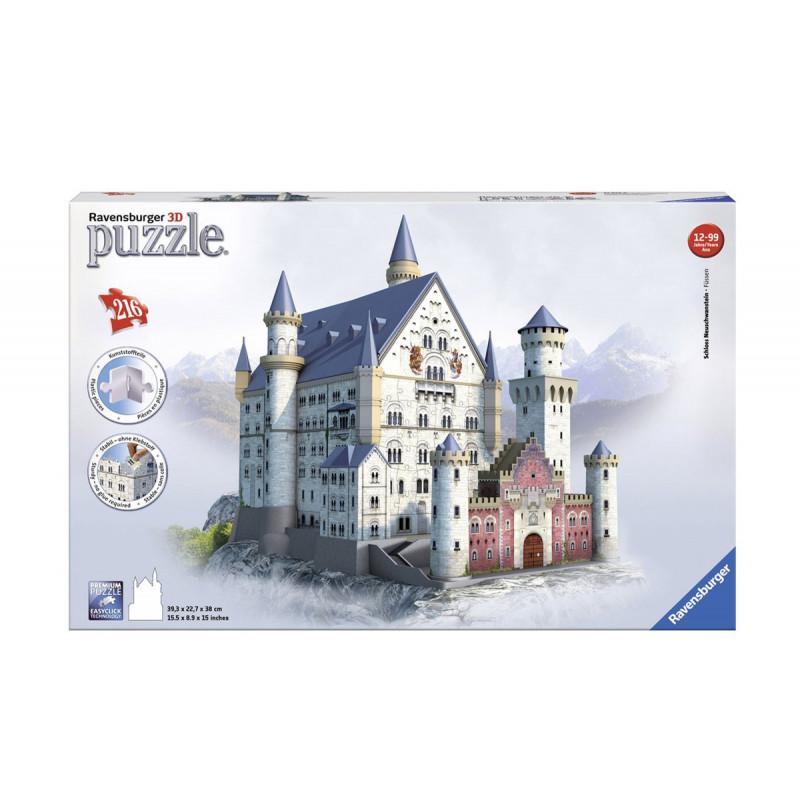 3D Пъзел Замъкът Нойшванщайн  11062