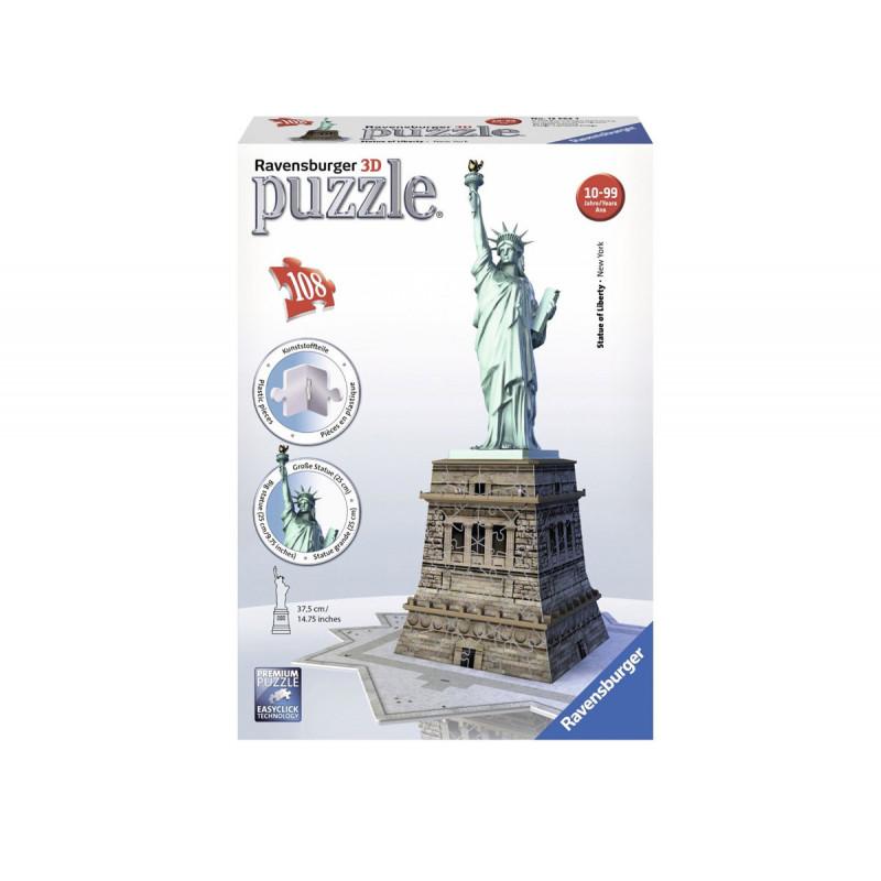3D Пъзел Статуята на свободата  11065