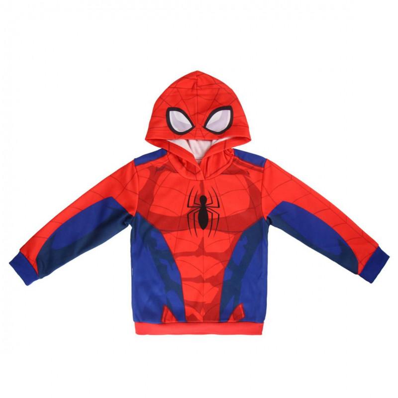 Суитчър Spiderman за момче червен  1109
