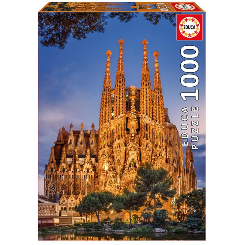 Детски пъзел Sagrada Familia  11237