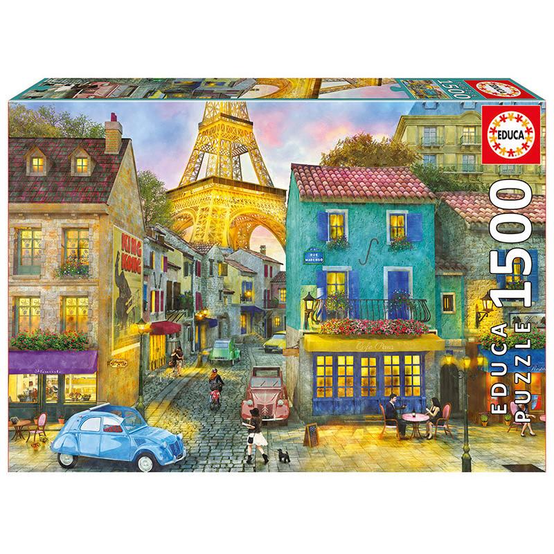 Детски пъзел Улици в Париж  11250