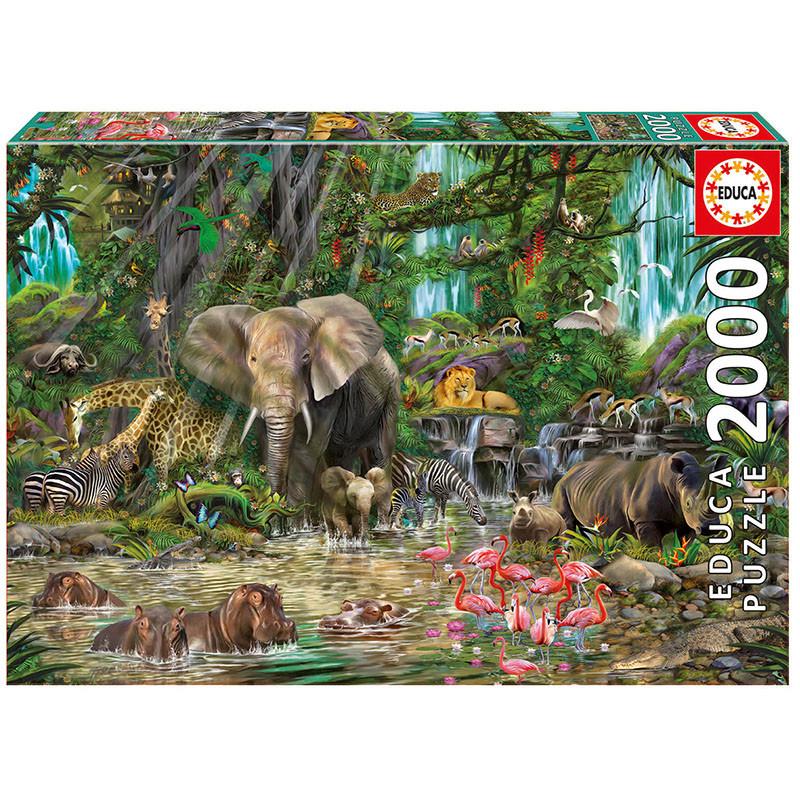 Детски пъзел Африканска джунгла  11252